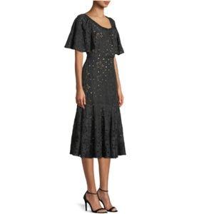 Rebecca Taylor > Eyelet Midi Dress
